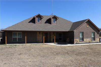 Springtown Single Family Home Active Option Contract: 135 Cooperstown Drive