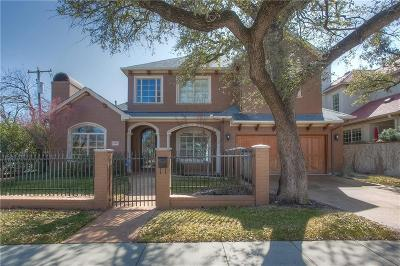 Fort Worth Single Family Home For Sale: 3901 Clarke Avenue