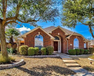 Rockwall Single Family Home Active Option Contract: 2251 Teagle Drive