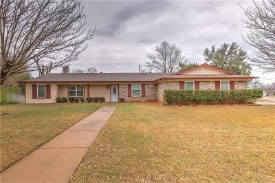 Cleburne Single Family Home Active Option Contract: 1207 Bradley Drive