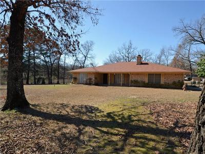 Grand Saline Single Family Home Active Contingent: 1502 Vz County Road 1226