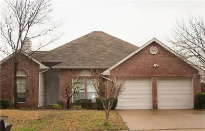 Rowlett Single Family Home Active Option Contract: 9205 Oak Hollow Drive