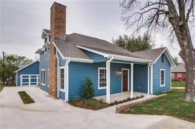 Grapevine Single Family Home For Sale: 330 Church Street