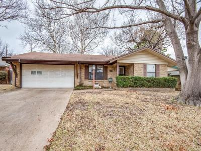 Irving Single Family Home Active Option Contract: 2129 Druid Drive