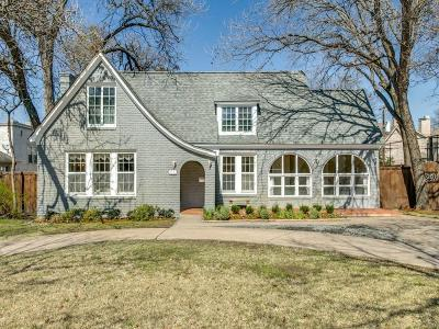 Single Family Home For Sale: 3232 Lovers Lane