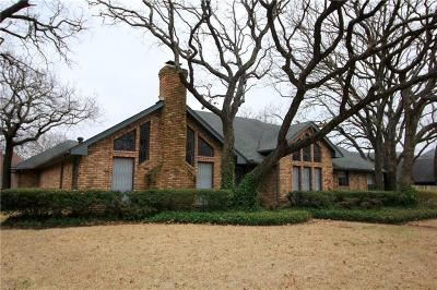 Grapevine Single Family Home Active Option Contract: 3033 Ridgebend Drive