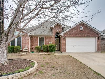 Mansfield Single Family Home Active Option Contract: 1912 Sail Fish Drive