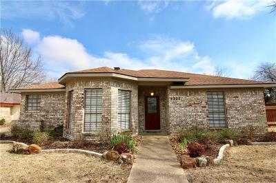 Rowlett Single Family Home Active Option Contract: 4302 Simmons Drive