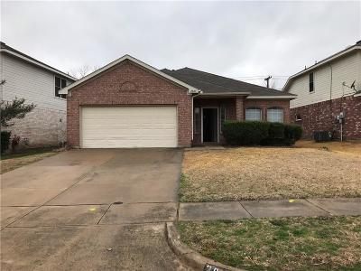 Grand Prairie Single Family Home Active Option Contract: 2847 Earle Drive
