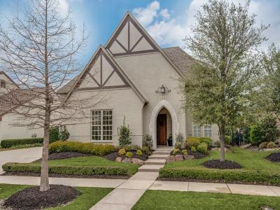 Frisco Single Family Home Active Option Contract: 3662 Hickory Grove Lane