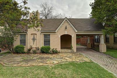 Single Family Home Active Contingent: 5631 Ridgedale Avenue