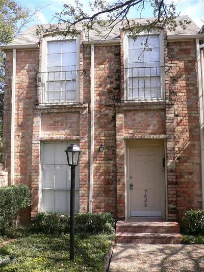 Condo Active Option Contract: 9820 Park Lane Place