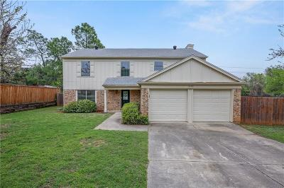 Euless Single Family Home For Sale: 2192 Erwin Drive