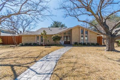 Carrollton Single Family Home Active Option Contract: 2714 Raintree Drive