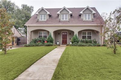 Fort Worth Single Family Home Active Option Contract: 3521 Westcliff Road S