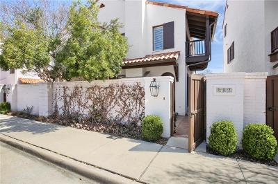 Fort Worth Townhouse For Sale: 257 Casa Blanca Avenue