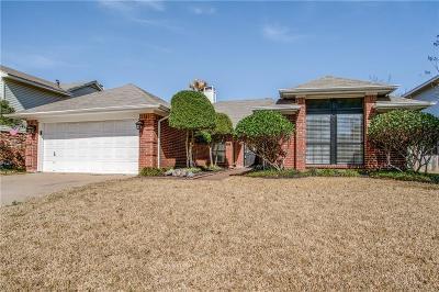 Grand Prairie Single Family Home Active Option Contract: 322 Baldwin Street