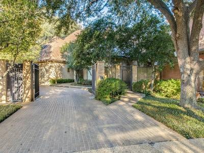 Dallas TX Single Family Home For Sale: $1,399,999