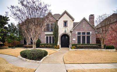 Plano Single Family Home Active Contingent: 5908 Johns Wood Drive