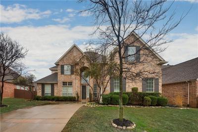 Keller Single Family Home For Sale: 709 Hidden Woods Drive