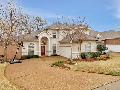 Grapevine Single Family Home Active Contingent: 1414 Rio Bend Court