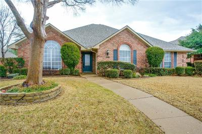 Coppell Single Family Home Active Option Contract: 813 Falcon Lane