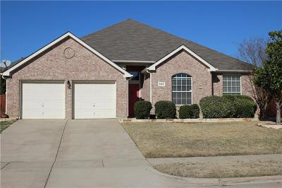 Coppell Single Family Home Active Option Contract: 848 Mullrany Drive