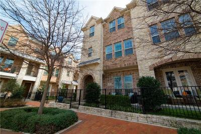 Addison Townhouse For Sale: 5026 Meridian Lane
