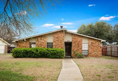 Plano Single Family Home Active Option Contract: 1616 Cumberland Trail