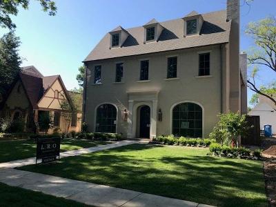 University Park Single Family Home Active Option Contract: 3820 Purdue