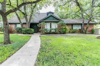 Azle Single Family Home Active Option Contract: 200 Twin Oaks Court