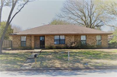 Terrell Single Family Home Active Option Contract: 1007 Meridith Drive