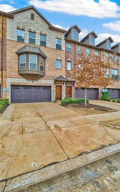 Irving Townhouse Active Option Contract: 7865 Oxer Drive