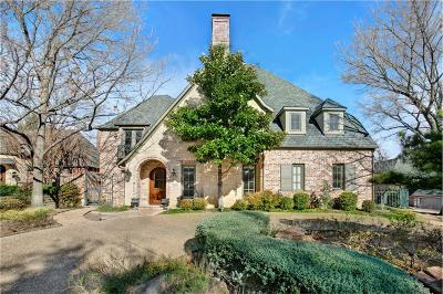 Dallas TX Single Family Home For Sale: $1,430,000