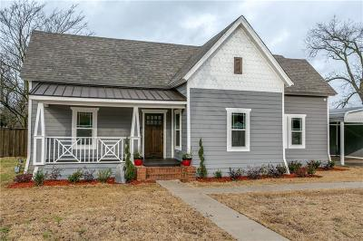 Single Family Home For Sale: 901 Oak Street