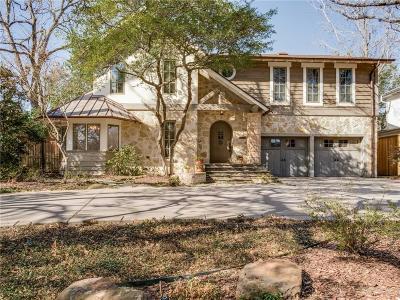 University Park Single Family Home Active Option Contract: 6301 Westchester Drive