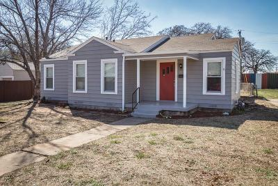Haltom City Single Family Home Active Option Contract: 2017 Owens Street