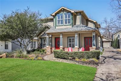 Dallas TX Single Family Home For Sale: $769,500