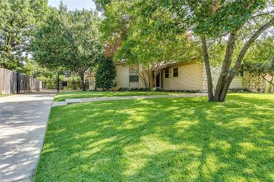 Single Family Home For Sale: 7040 Treehaven Road