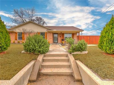 Single Family Home For Sale: 10627 McCree Road