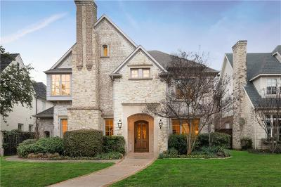University Park Single Family Home For Sale: 4308 Bryn Mawr Drive