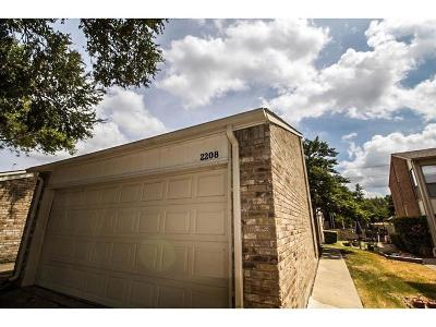 Carrollton Townhouse For Sale: 2208 Salem Drive