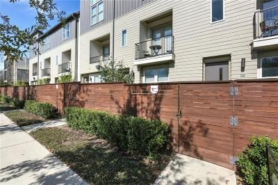 Townhouse Active Option Contract: 4211 Rawlins Street #96