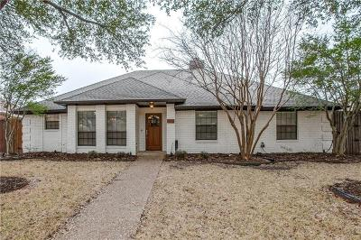 Richardson TX Single Family Home Active Contingent: $439,500
