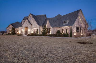 Aledo Single Family Home Active Option Contract: 301 Rustic View Lane
