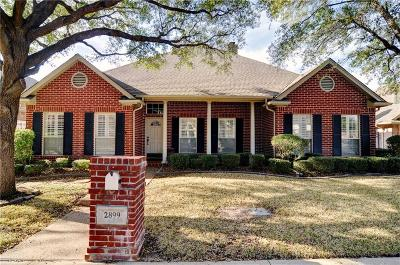 Fort Worth Single Family Home Active Option Contract: 2899 Oakbriar Trail