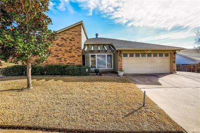 Bedford Single Family Home Active Option Contract: 3408 Vine Ridge