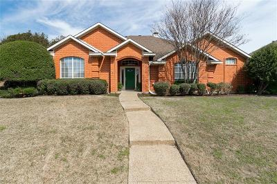 Plano TX Single Family Home Active Option Contract: $318,000