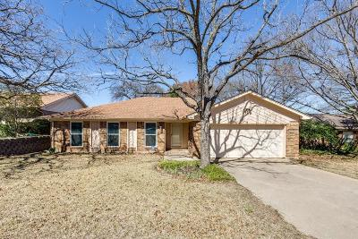Bedford Single Family Home Active Option Contract: 1709 Bedford Oaks Drive