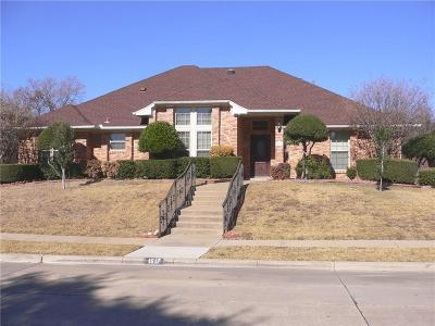 Carrollton Single Family Home Active Option Contract: 1617 Millview Place